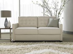 Sophisticated contemporary style with modern tufted back cushions (Patterson)