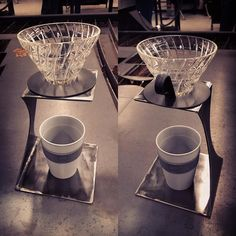 Pour over stand for taller cups. The Keepcup that is in it is the 12oz so plenty of room for taller ones. #blackironcoffeeroasters #blackironcoffee #coffee #coffeelove #coffeeroasters #pourover #pourovercoffee #hario #keepcup #michigan #madeinmichigan #detroit #metalfabrication #metalfab http://ift.tt/20b7VYo