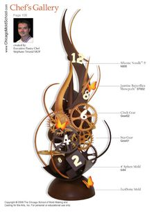 Chocolate Showpiece created by Pastry Chef Vincent Pilon.
