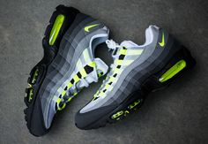 Air Max 95 Black Off. the Cheapest Air Max 95 Ultra SE, Ultra Essential, Utra Jacquard and Other Colorways. Nike Shoes Cheap, Nike Free Shoes, Nike Shoes Outlet, Running Shoes Nike, Cheap Nike, Neon Sneakers, Air Max Sneakers, Sneakers Fashion, Fashion Shoes