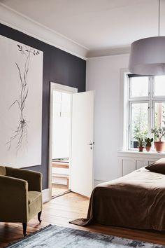 Beautiful styled bedroom