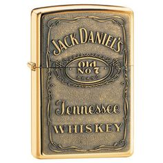 Right To Bear Arms Company - Zippo Lighter - Jack Daniel's, $34.99 (http://www.rtba.co/zippo-lighter-jack-daniels/)