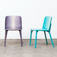 Paris-based designer Arik Levy will present a seating range supported by split wooden legs in Milan next month.