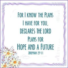 Hope and future plans quote via www.Facebook.com/JoyEachDay