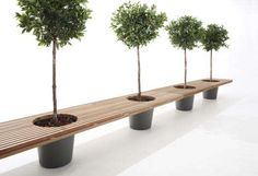 stacked planter -patio seats