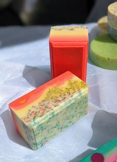 Cocoa Butter, Shea Butter, Soap Cutter, Red Palm Oil, Red Sunset, Relaxation Gifts, Vegan Soap, Glycerin Soap, Soap Bar