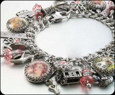 Mother's Charm Bracelet, Mother's Jewelry, Mother's day gifts, Home Sweet Home Charm Bracelet on Etsy, $123.00