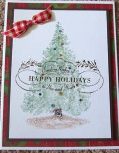 STAMPIN' UP CARD KIT MAKE *3* CARDS PLUS 1 FINISHED CARD *CHRISTMAS IN JULY*