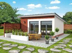 DOM.PL™ - Projekt domu PT KL3 Kuchnia letnia / Bud. gospodarczy CE - DOM PD4-82 - gotowy projekt domu