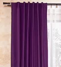 cortinas moradas