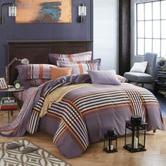 Beddinghouse brushed twill ropa de cama pendleton Blue