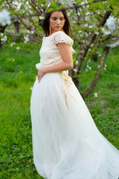 My mind, Cherry´s Life. White Noix de Coco / Chiara By White Gatache  #wedding #weddingdrees #bridal #bride #novias #atelier #vintage #cherryslife