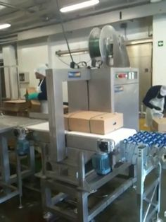Flejadora motorizada de acero inoxidable para indústrias cárnicas