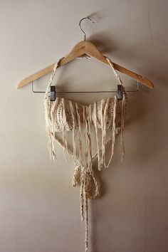 Cotton Fringe Bra / Bikini Top   Made To Order by motavationsnn, $29.00    Another one of My creations, Current best seller <3