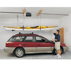 Harken Kayak Hoister System Storage – Boat Part Deals – Boat Parts at Wholesale Prices, Boat Paint, Boat Seats, Boat Covers, Watersports Equipment and Canoe Storage, Roof Storage, Overhead Garage Storage, Garage Storage Solutions, Ceiling Storage, Garage Organization, Storage Ideas, Organization Ideas, Organizing Solutions