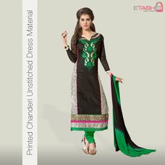 One of the most preferring assortments in fashion sense is Black coloured Embroidered Casual wear.