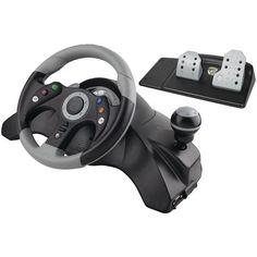 Xbox 360 Wired Racing Wheel: Video Games