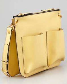 Marni Double-Pocket Large Shoulder Bag