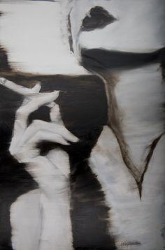 """Saatchi Online Artist: Janel Eleftherakis; Oil, 2013, Painting """"Sepia Series #1"""""""