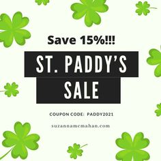Sale ends on St. Patrick's Day midnight! Ring Bracelet, St Patrick, Coupon Codes, Handmade Jewelry, Jewelry Making, Handmade Jewellery, Jewellery Making, Diy Jewelry, Make Jewelry