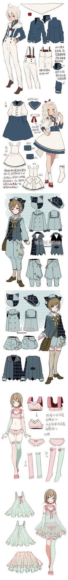 Ropa para personajes