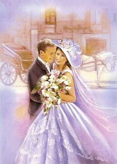 Bride & Groom Wedding Prints, Wedding Art, Wedding Images, Wedding Couples, Wedding Pictures, Wedding Bride, Bride Groom, Vintage Wedding Cards, Vintage Bridal