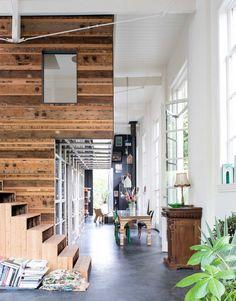 Une maison loft à Ultrecht pensée avec des matériaux de récupération