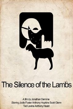 Silence of the Lambs film poster