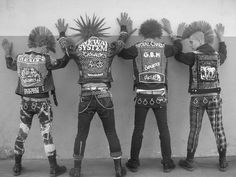 punk rock style | punk style is one branch of the punk rock style we call it street punk ...
