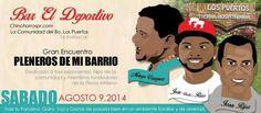 Gran Encuentro: Pleneros de Mi Barrio @ Dorado #sondeaquipr #plenerosdemibarrio #dorado #deportivosportsbar #lospuertos