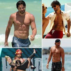 Shirtless Champ Joe Manganiello!