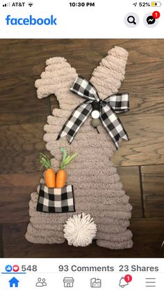 Easter Art, Hoppy Easter, Easter Bunny, Bunny Crafts, Easter Crafts, Spring Crafts, Holiday Crafts, Easter Projects, Easter Ideas