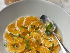 soupe de clémentines au miel et romarin : Recette de soupe de clémentines au miel et romarin - Marmiton