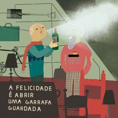 19 DE FEVEREIRO - Felicidário :: Illustrated by Madalena Matoso