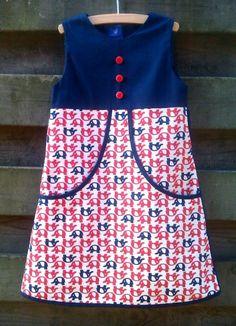 supermooie versie van het van katoen-kleedje