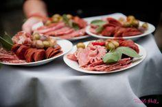 Anti pasta plates by Ravishing Radish Catering. Photo by Barbie Hull.