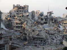 syrie | Syrie : Homs ville détruite - PsyOps