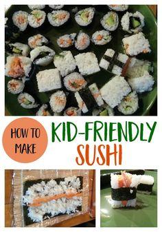 How to Make Kid-Friendly Sushi healthy food   recipe   kid food