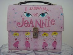 The sitcom about a genie (Barbara Eden) living with an astronaut (Larry Hagman) in Cocoa Beach, Florida, aired from This lunch box may have been designed girls, but Jeannie captured the interest of a lot of boys as . Retro Lunch Boxes, Lunch Box Thermos, Cool Lunch Boxes, Metal Lunch Box, Star Wars Lunch Box, I Dream Of Jeannie, School Lunch Box, Whats For Lunch, Vintage School