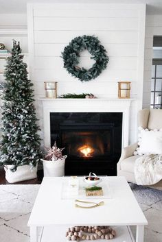 Side Décor - How To DIY Your Holiday Mantel - Photos