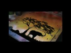 Spray Paint Art - Savane