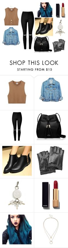 """Rebel"" by abydallas on Polyvore featuring Kate Spade, Tomma, Karl Lagerfeld, Alexander Wang, Chanel, Sole Society, women's clothing, women, female and woman"