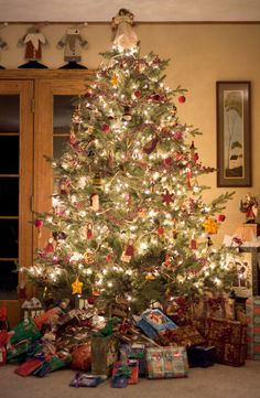 Your tree is filled with memories of Christmases passed, and you wouldn't have it any other way. You'd choose sentimental value over a posh aesthetic any day.