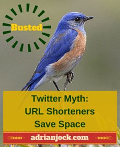 Social media myth: one of the reasons to shorten a URL is to avoid exceeding Twitter's 140 character limit. Busted!