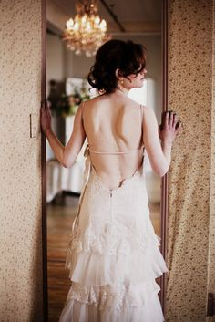 holy moly!  love the back of this dress!