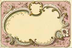 French Graphic Frame