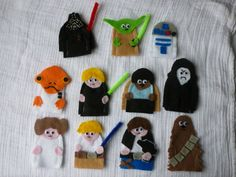Star Wars Inspired Finger Puppets