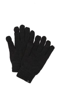 Plush Fleece Lined Smartphone Gloves | $50 Inventive fleece-lined gloves have holes at the thumb and pointer fingers for easy smartphone access.