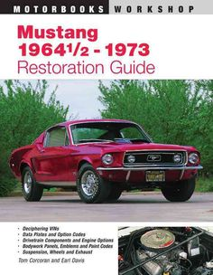 This ultimate book of knowledge on Ford's famous pony car has been updated to include all models through 1973. A technical reference source for an authentic restoration, judging parts and options orig