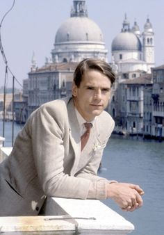 Jeremy Irons is Charles Ryder in one of the most iconic TV programmes of all time 'Brideshead Revisited' (1981)